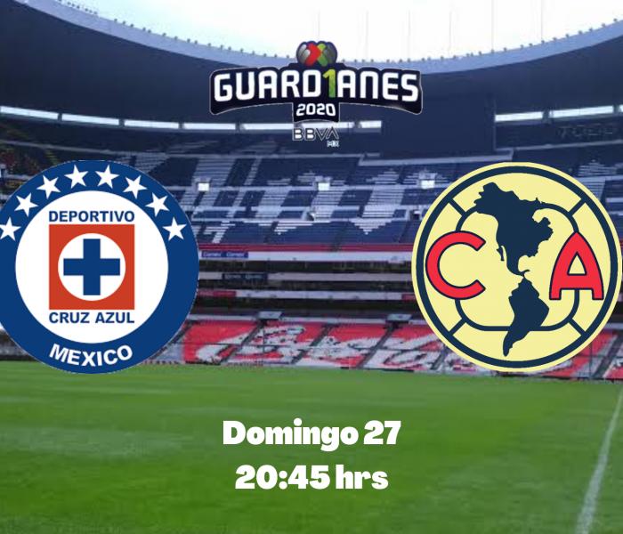 Guard1anes 2020: Cruz Azul vs América, minuto a minuto