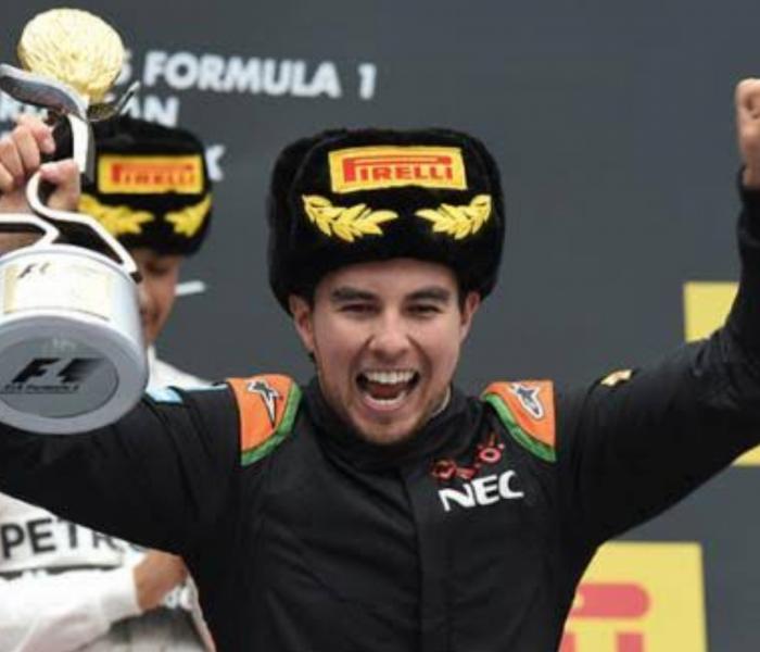 F1: Checo Pérez podría repetir podio en el RussianGP