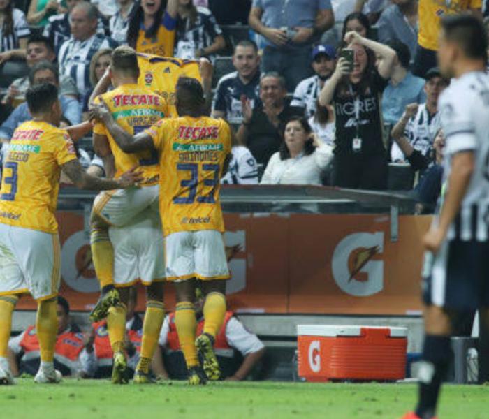 Impresionante: Tigres solo le gana de esta forma a Monterrey