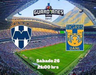 Liga BBVA Mx Monterrey vs Tigres Minuto a Minuto