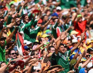 Habrá gente en los estadios de México
