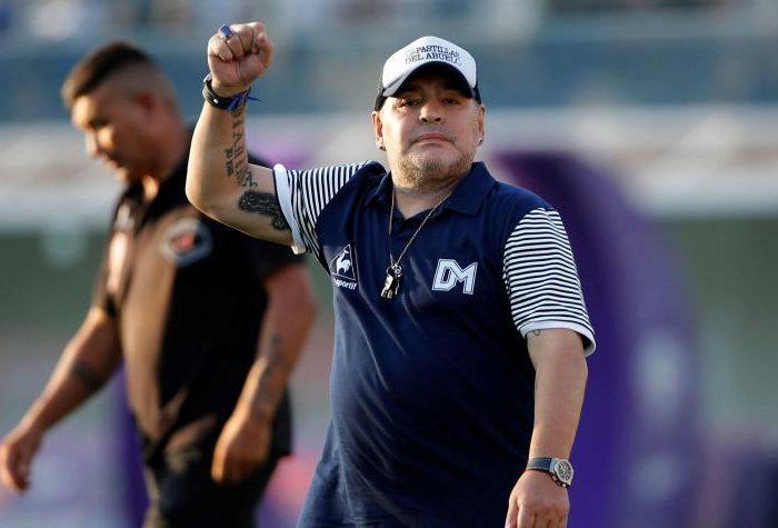 Filtran foto del cuerpo de Maradona