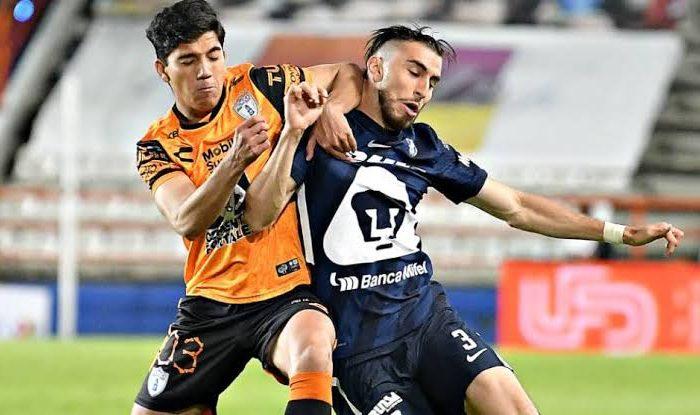 Pumas vence 1-0 a Pachuca en ida de los Cuartos de Final