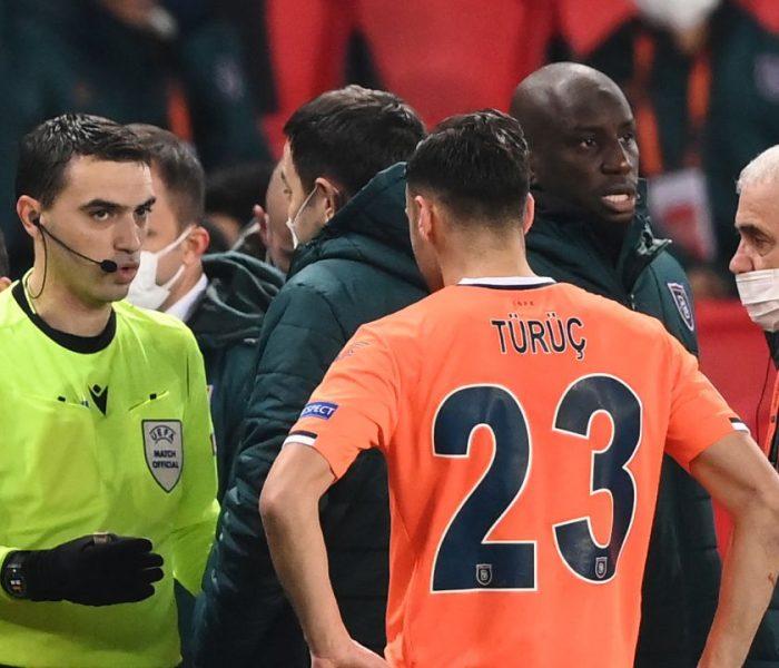 PSG y Istambul Basaksehir se unen contra el racismo