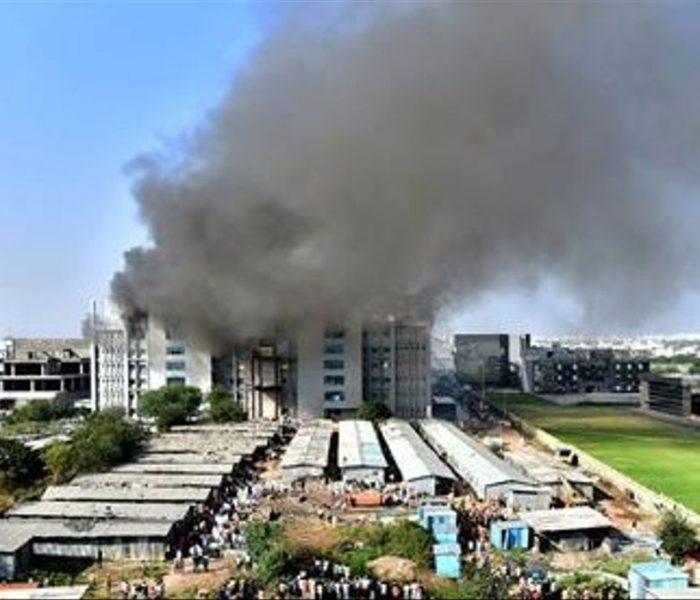 Se registra incendio en  una de las sedes de fabricación de vacuna contra el Covid-19