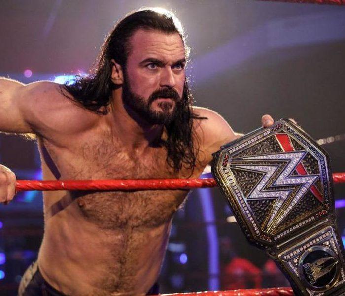 Campeón de la WWE da positivo a Covid-19