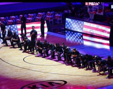 NBA: Jugadores de Céltica se arrodillan por disturbios en el Capitolio