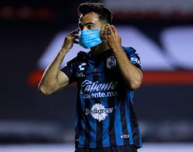Festejo anti Covid-19 en la Liga MX