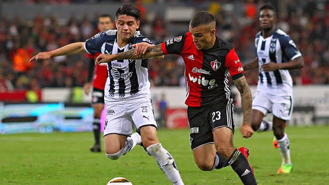 Monterrey gana 2-0 frente al Atlas