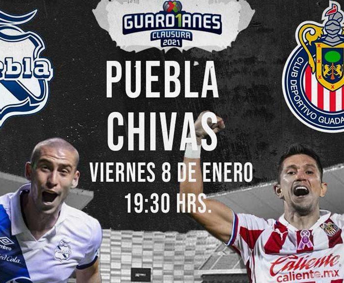 Liga Mx: Chivas empata contra Puebla