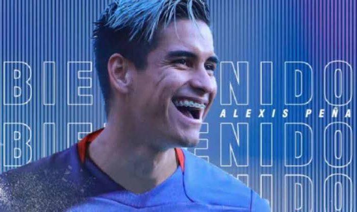 Cruz Azul hace oficial a Alexis Peña