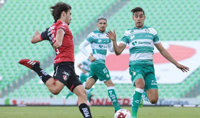 Atlas rescató el empate ante Santos