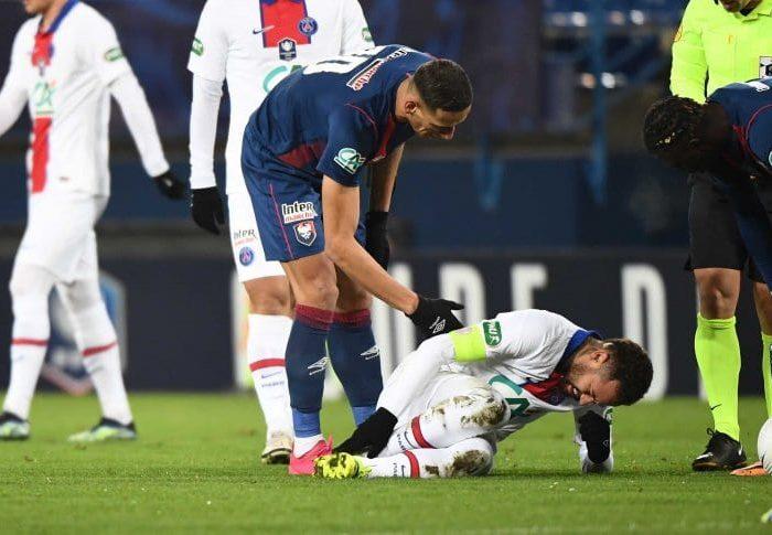 Neymar no jugará contra Barcelona por lesión