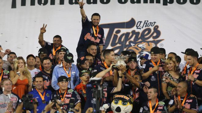 Tigres de Quintana Roo celebra su 66 aniversario en el béisbol mexicano