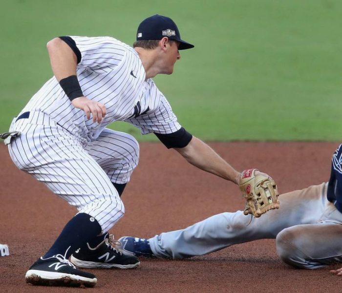 Los Rays se llevan el primero de la serie sobre los Yankees