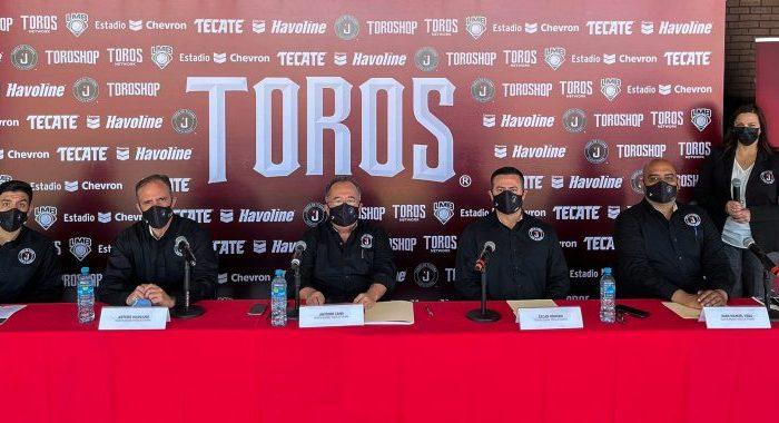 Toros de Tijuana, listos para iniciar la pretemporada rumbo a la LMB 2021