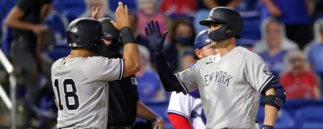 Higashioka comanda el triunfo de Yankees sobre Blue Jays