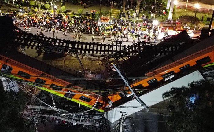 REACCIONES AL ACCIDENTE EN LA LINEA 12 DEL METRO DE LA CMDX