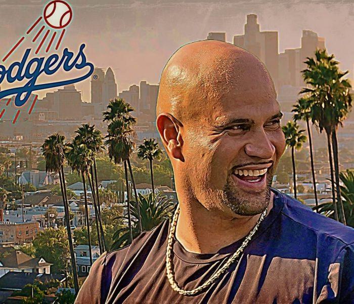 Los Dodgers hacen oficial la llegada de Albert Pujols