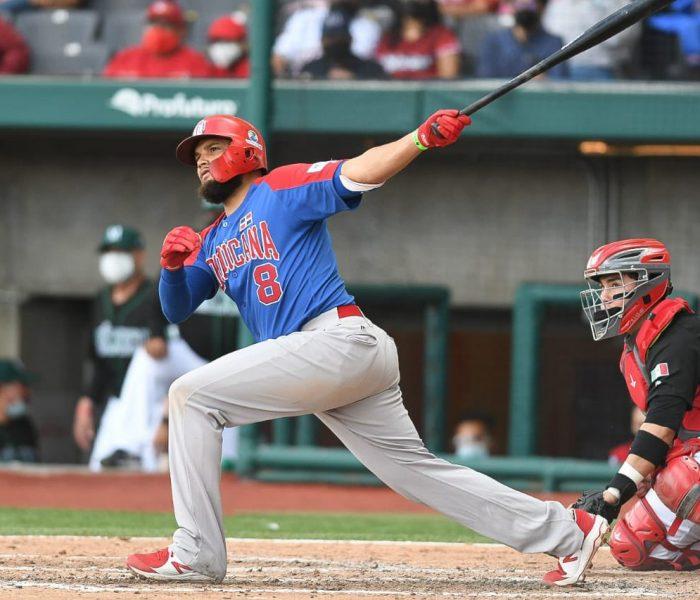 Dominicana saca los bates y apalea a México en juego de exhibición